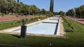 Parque Rey Juan Carlos I en Pinto, Madrid.
