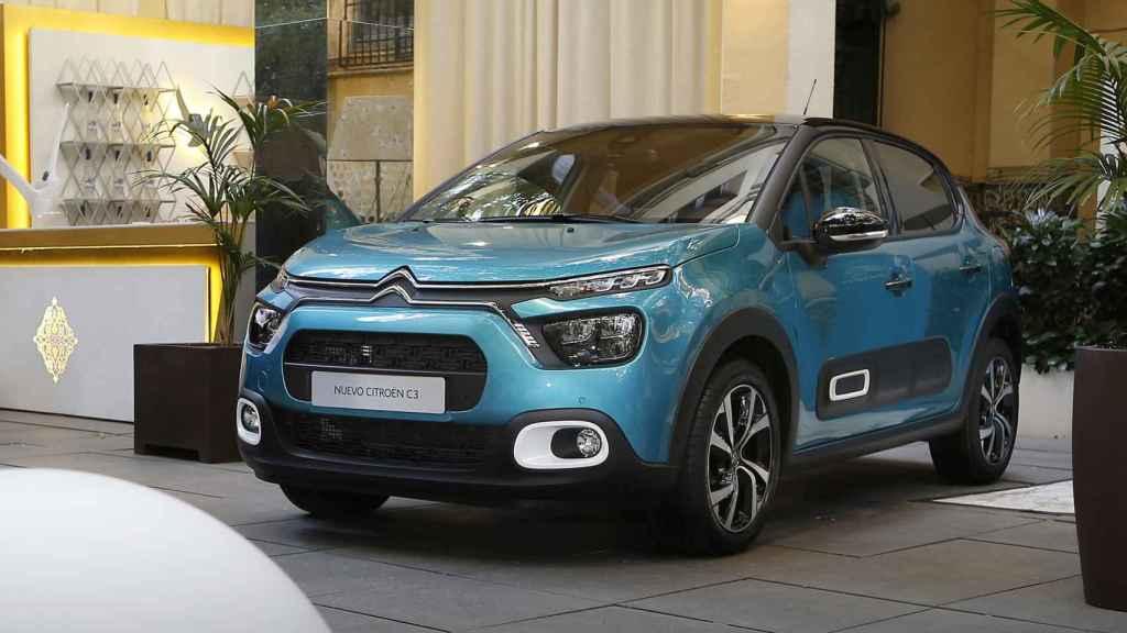 El nuevo Citroën C4 2020 en su presentación en Madrid.