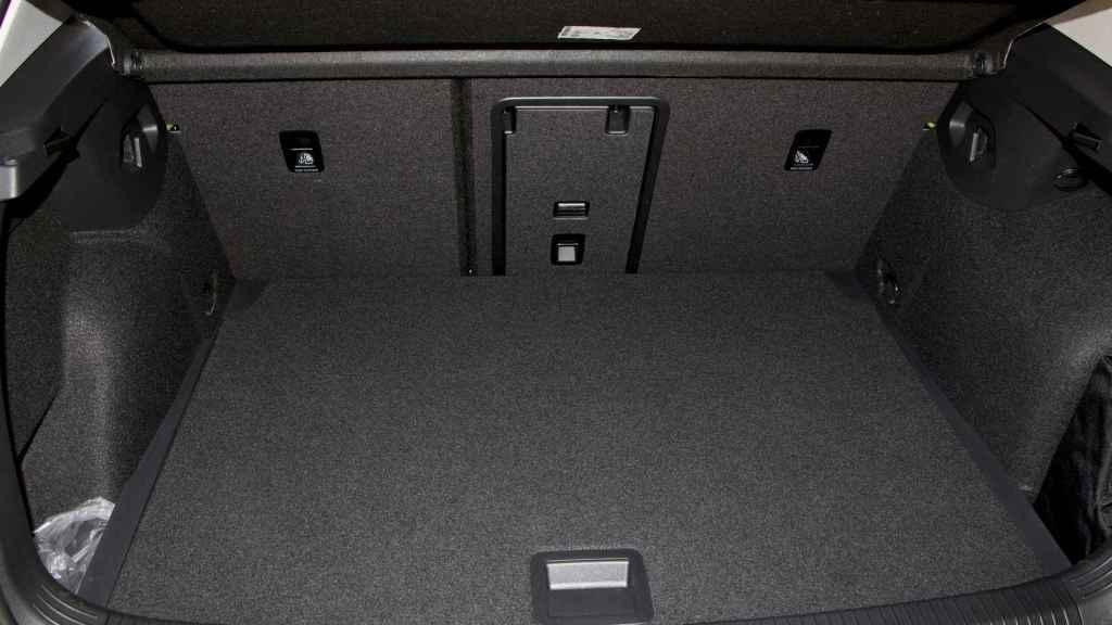 Imagen del maletero.