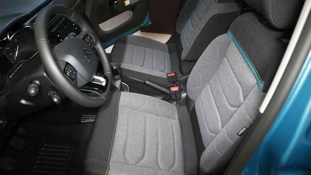 Asientos del nuevo Citroën C3.