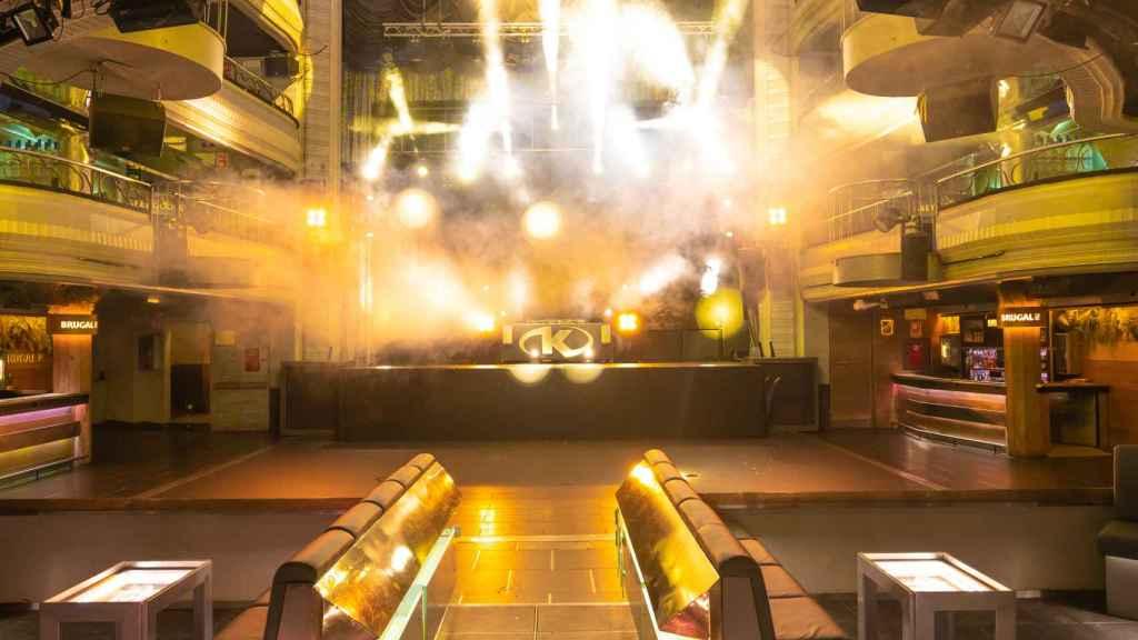 Teatro Kapital ha optado por habilitar palcos acotados, con camareros y baño privado.