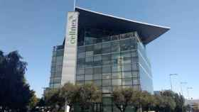 Oficina de Cellnex en la Zona Franca de Barcelona.