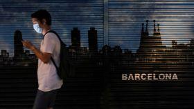 Local de Barcelona cerrado.