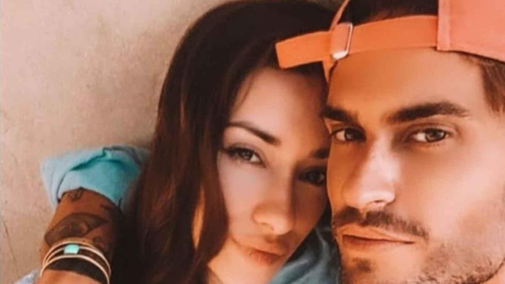 Primera imagen de Rodrigo y Adara juntos.