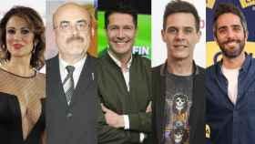 Silvia Jato, Constantino Romero, Jaime Cantizano, Christian Gálvez y Roberto Leal.