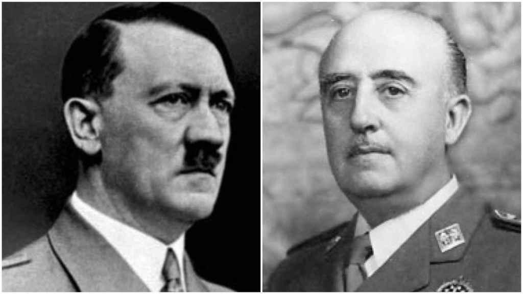 Hitler y Franco.