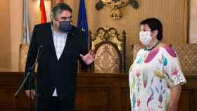 Rodríguez Uribes en un acto en Segovia
