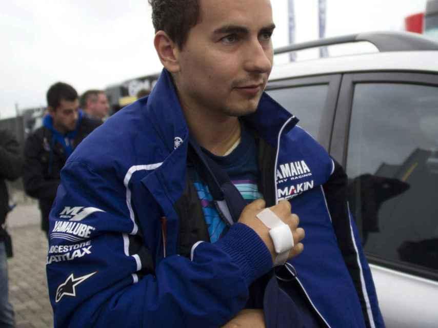 Lorenzo en el GP de Assen en 2013