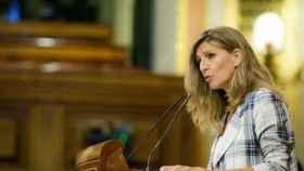 Yolanda Díaz, en el Congreso.