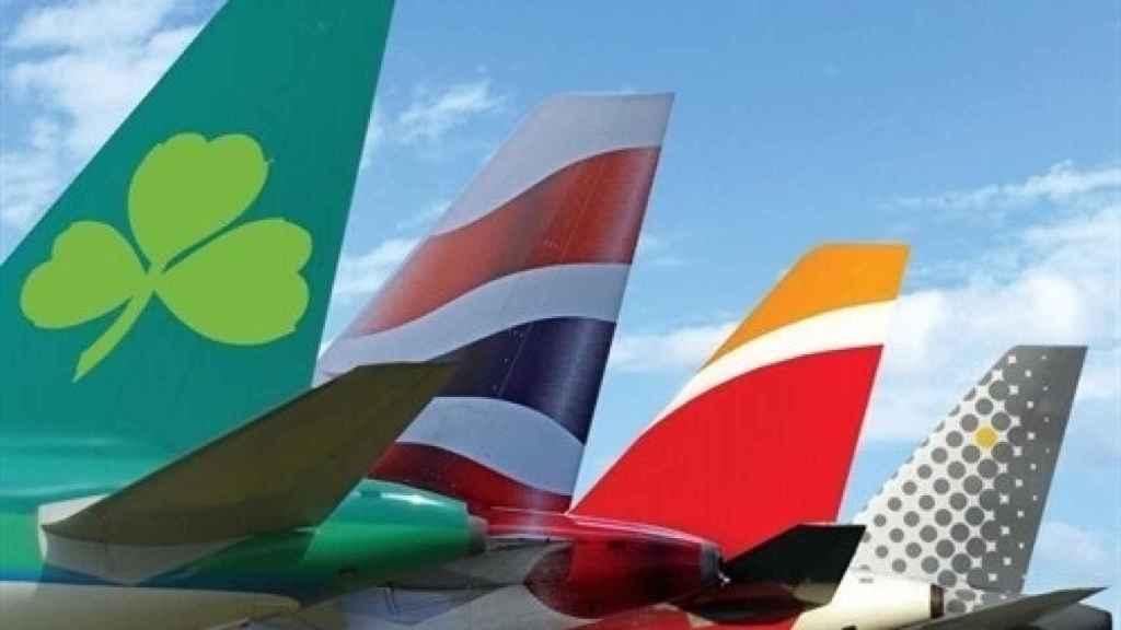 Aviones de IAG.
