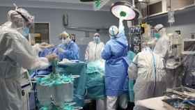 El Hospital Trueta (Girona) cierra la última UCI provisional y retoma operaciones (en imagen). EP