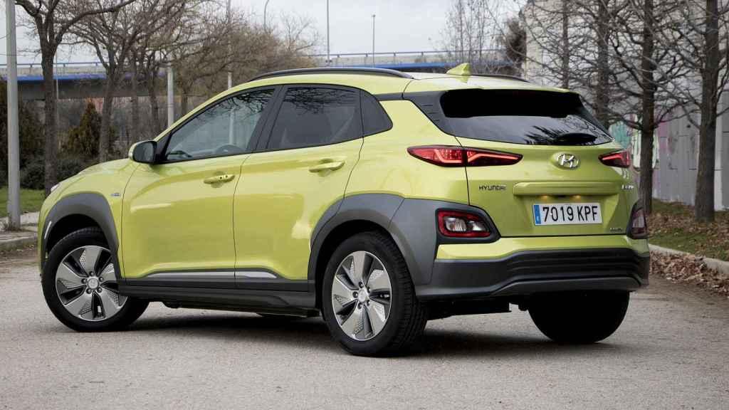 Este Hyundai Kona EV tiene un precio de catálogo de 46.450 euros.