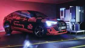 El Audi e-tron Sportsback ha sido el banco de pruebas de la carga bidireccional
