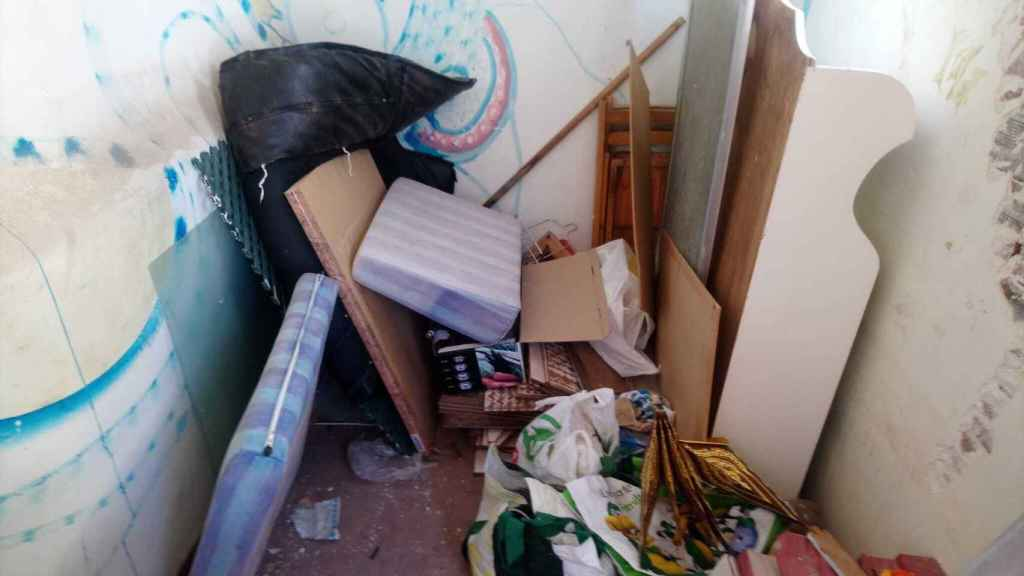 Así encontró la dueña su vivienda, en Barcelona, tras ser okupada durante 3 meses.