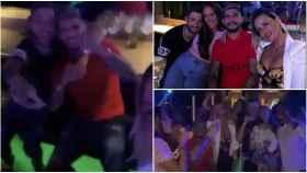 Banega, de fiesta en una discoteca de Valencia cerrada por un brote de coronavirus