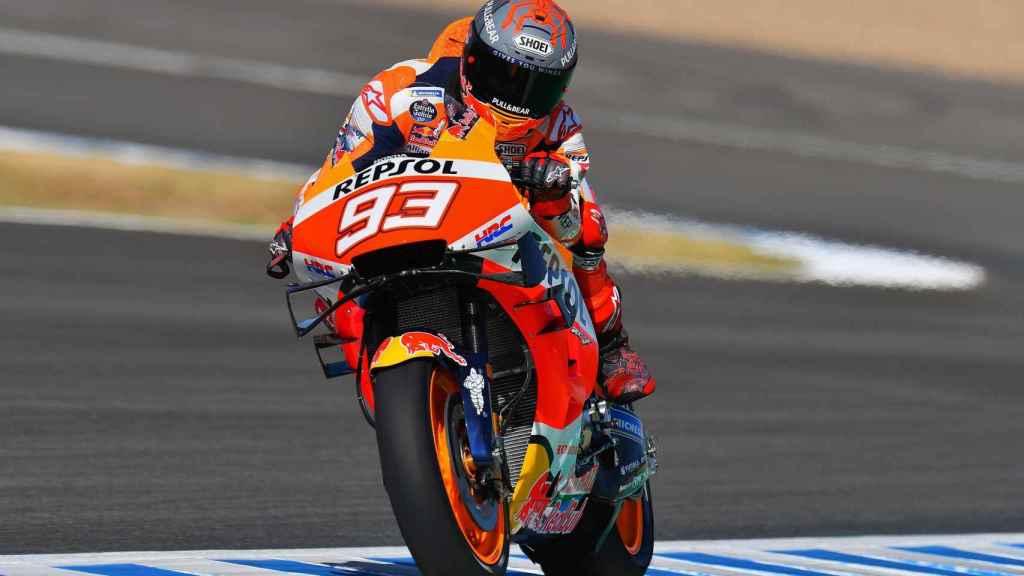 Marc Márquez en el Gran Premio de Jerez