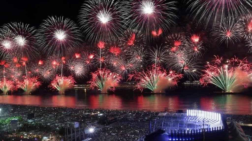 Celebración del año 2020 en Río de Janeiro.