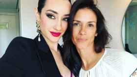 Adara Molinero junto a su madre, Elena Rodríguez, en una fotografía de Instagram.