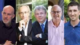 Los miembros del comité científico de Quim Torra.