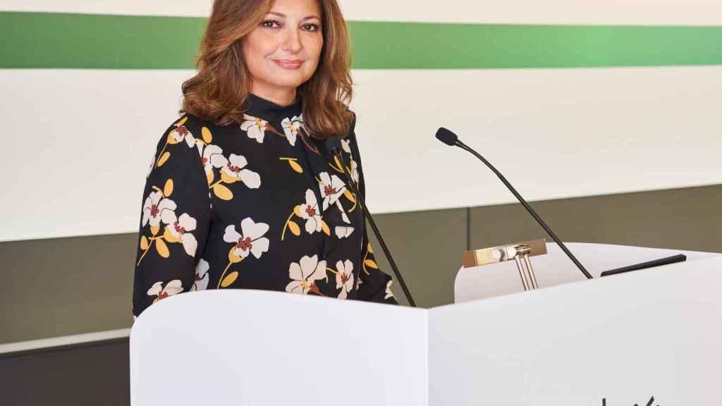 Marta Álvarez, presidenta de El Corte Inglés.