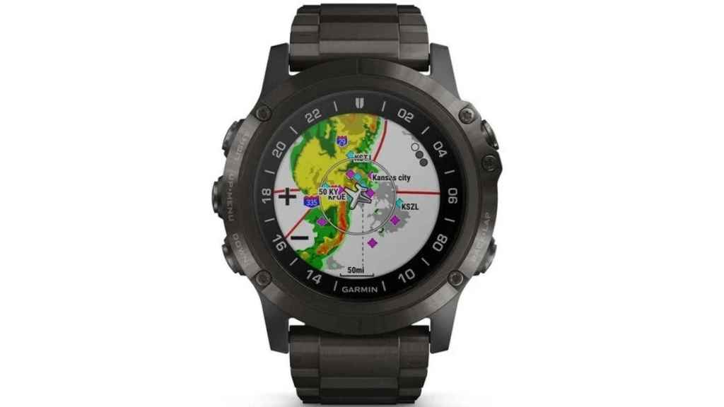 Reloj inteligente de Garmin para pilotos