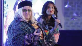 Nuria Roca y 'Soy una pringada' durante la presentación d ela primera temporada.