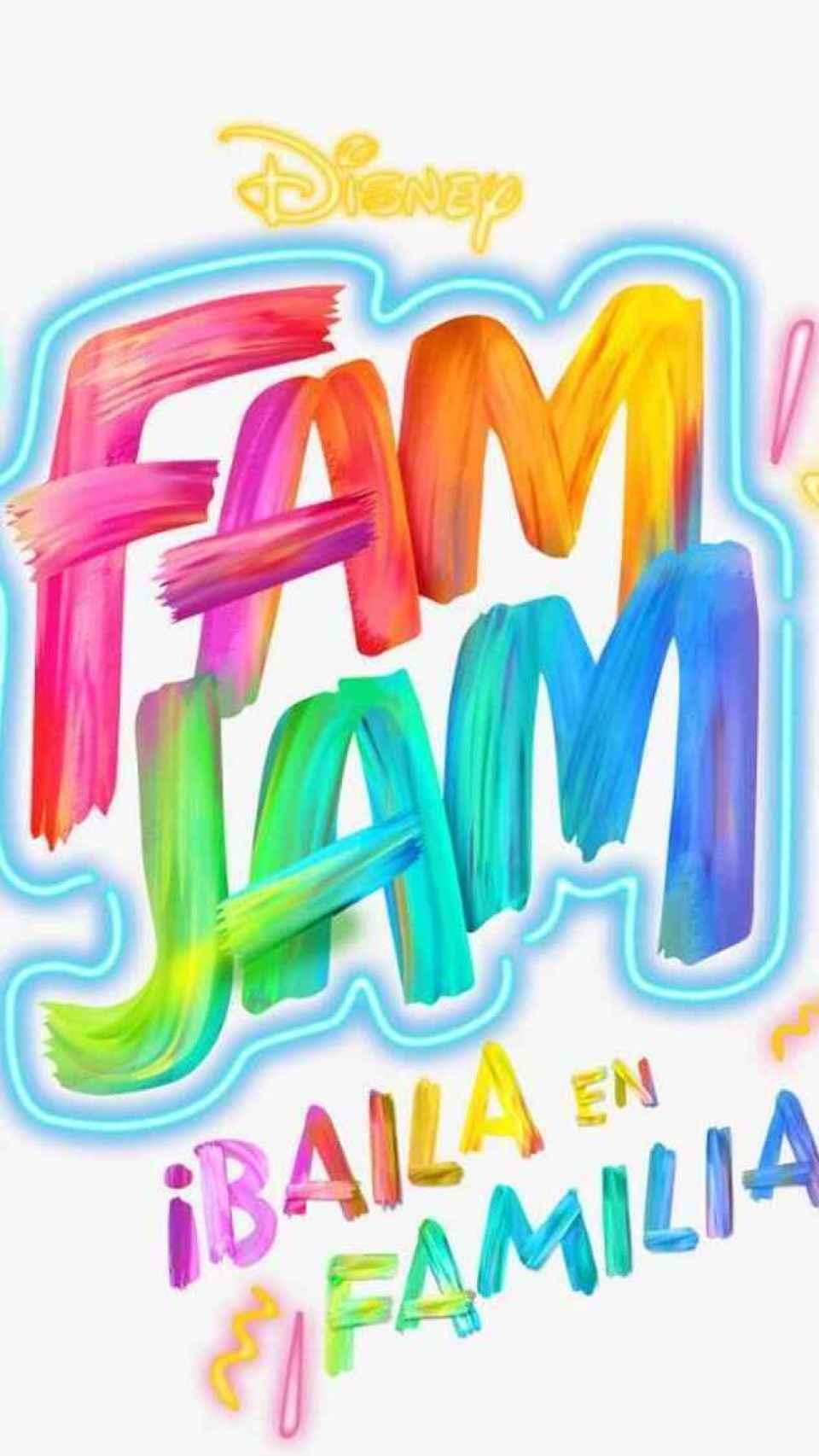 El logo de 'Fam Jam ¡Baila en Familia!'