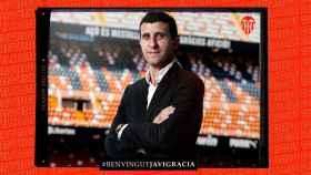 Javi Gracia, nuevo entrenador del Valencia