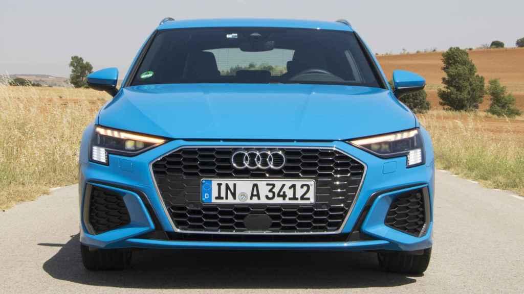El frontal del nuevo Audi A3 es muy llamativo