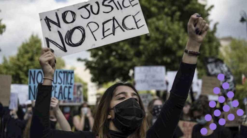 Imagen de archivo de una manifestación en Varsovia, Polonia.