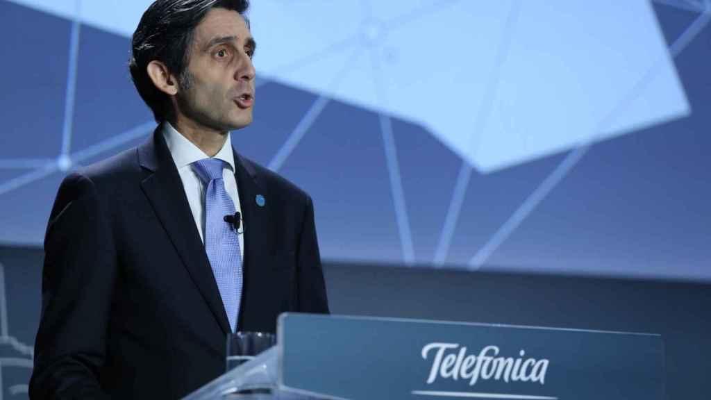 El presidente ejecutivo de Telefónica, José María Álvarez-Pallete.