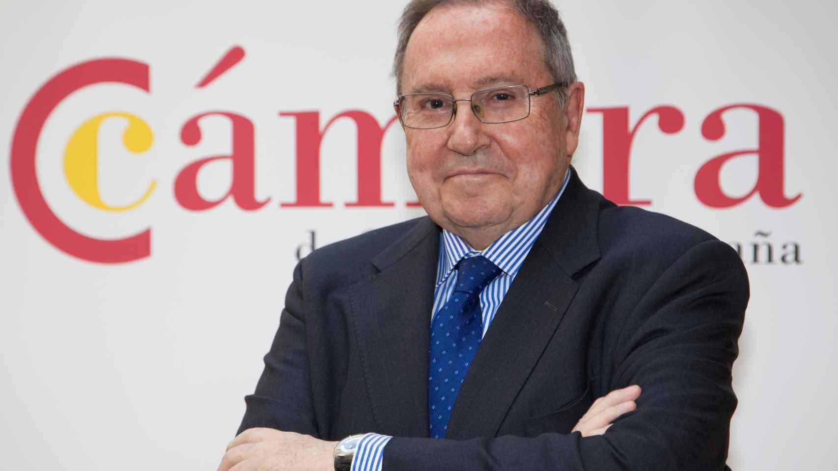 El presidente de la Cámara de Comercio de España, José Luis Bonet.