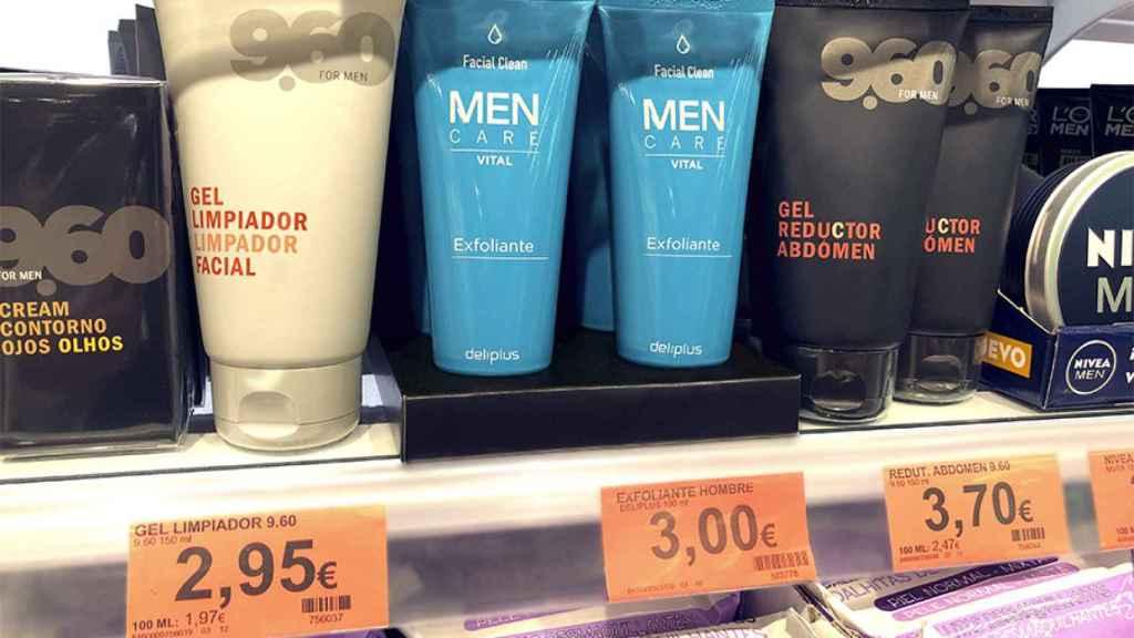 Exfoliante facial masculino de Mercadona.