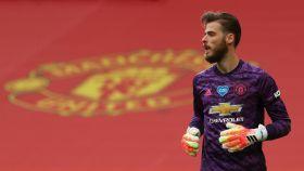 De Gea, con el Manchester United