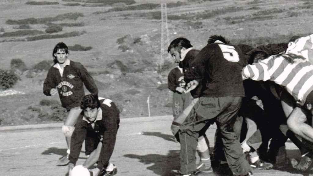 Partido de rugby en Tenerife