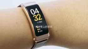 Pantalla curva y puerto USB C: así es la nueva pulsera de Huawei
