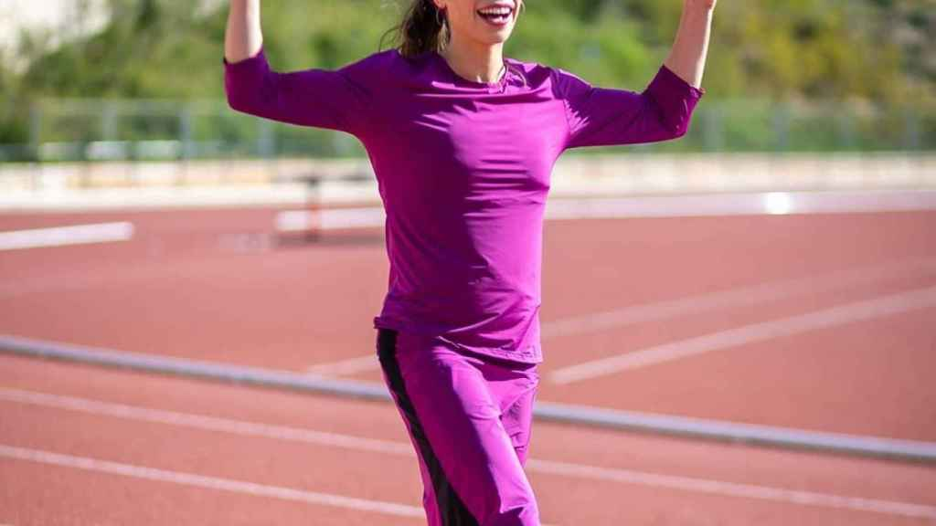 Bracha 'Beatie' Deutsch, atleta de maratón. Foto: Instagram (@marathonmother)