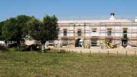 Obras acometidas en el Palacio de Doñana.
