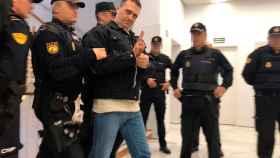 Igor el Ruso en enero en el Juzgado de Teruel.