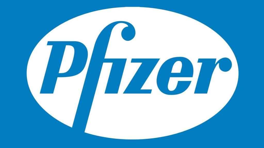 Logo de Pfizer.
