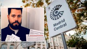 Carlos Santos, quien recibió 39 multas de Madrid Central que sigue recurriendo.
