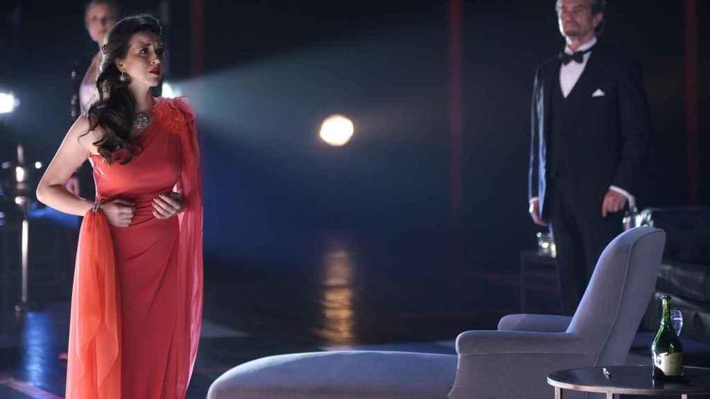 La soprano Lisette Oropesa en otro momento de 'La traviata'.