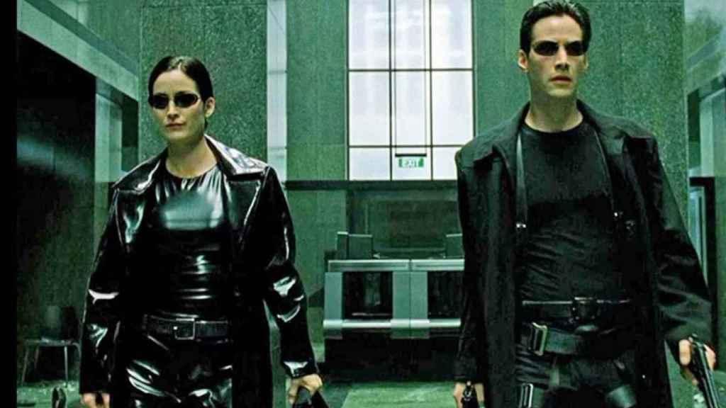 Fotograma de 'The Matrix'.