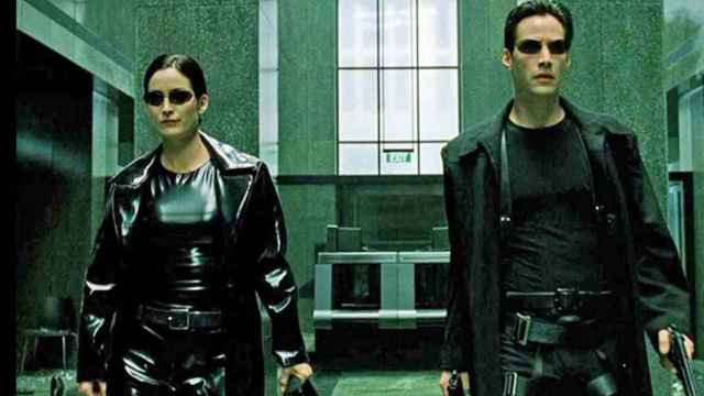 Fotograma de 'The Matrix'.
