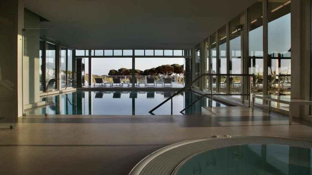Spa del hotel Oitavos.