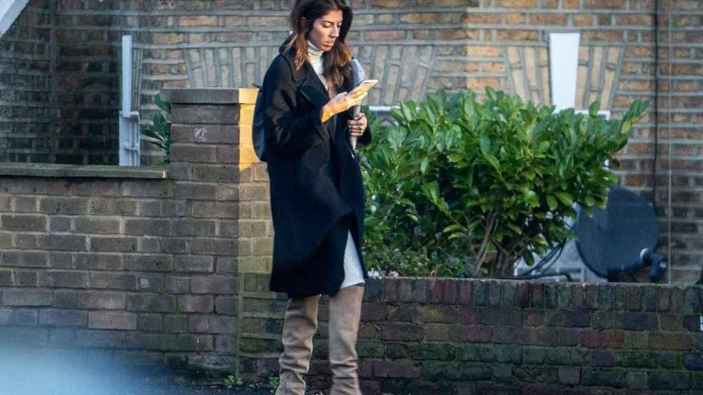 Karelys Rodríguez, en las calles de Londres, el pasado mes de enero.