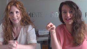 Ane Olabarrieta y Cristina Rodrigo.