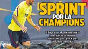Portada Sport (29/07/20)