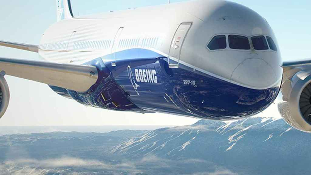 Uno de los aviones de Boeing.