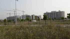Imagen de archivo de una zona en construcción.